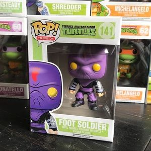 Funko Ninja Turtles Foot Soldier Vaulted POP vinyl